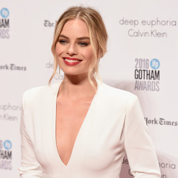 Margot Robbie's cream sundress could double as a nontraditional wedding gown