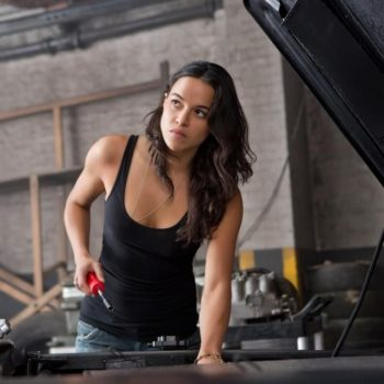 "Michelle Rodriguez threatens to leave the ""Fast and Furious"" franchise over its lack of female representation"