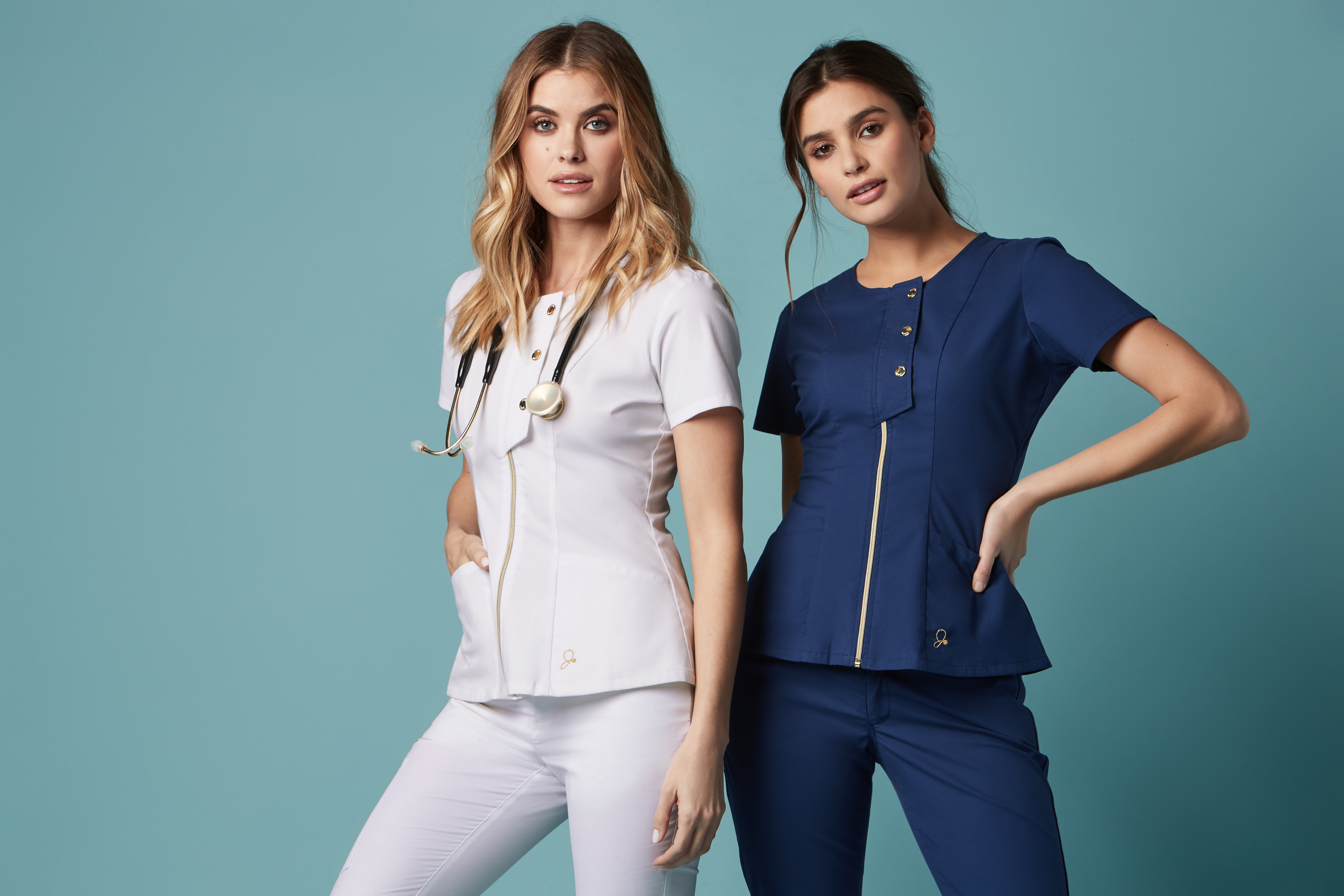 This company is making stylish scrubs so doctors and nurses can express themselves while on the job