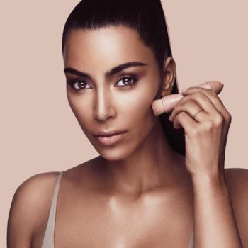 Kim Kardashian blessed us mortals with an easy, five-minute tutorial using her contour kit