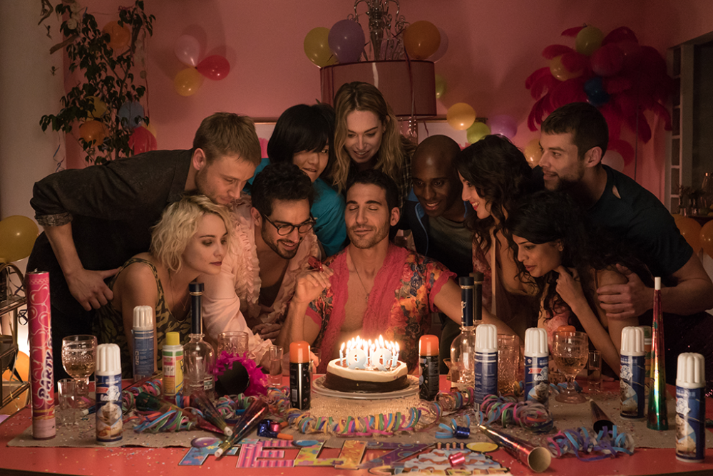 "Sound the alarm bells! Due to fan demand, Netflix's ""Sense8"" is getting a 2-hour finale special"