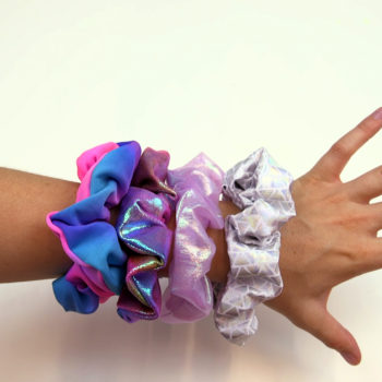 These DIY unicorn scrunchies combine our favorite '90s hair trend with our favorite mythical creature