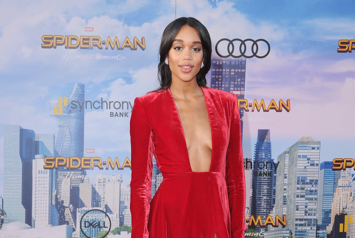 "Laura Harrier on what it was like keeping *that* ""Spider-Man: Homecoming"" twist a secret"