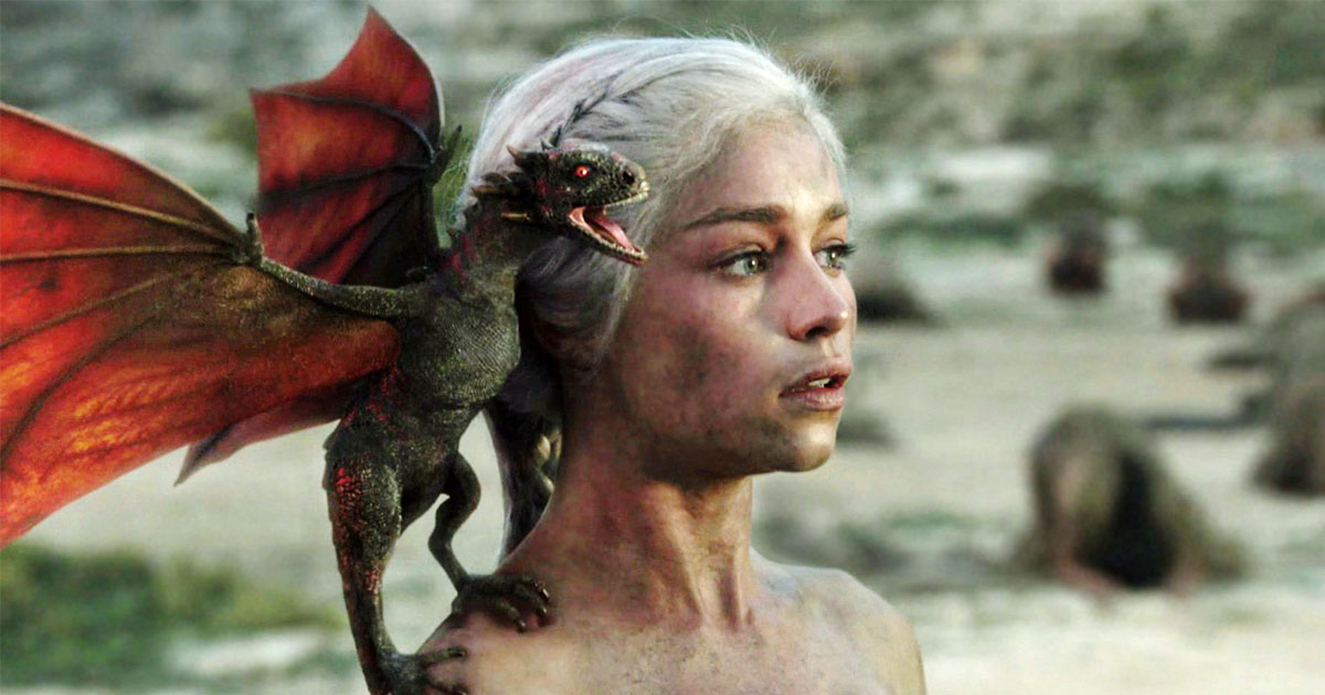"Emilia Clarke says that she's done playing Daenerys when ""Game of Thrones"" comes to an end"