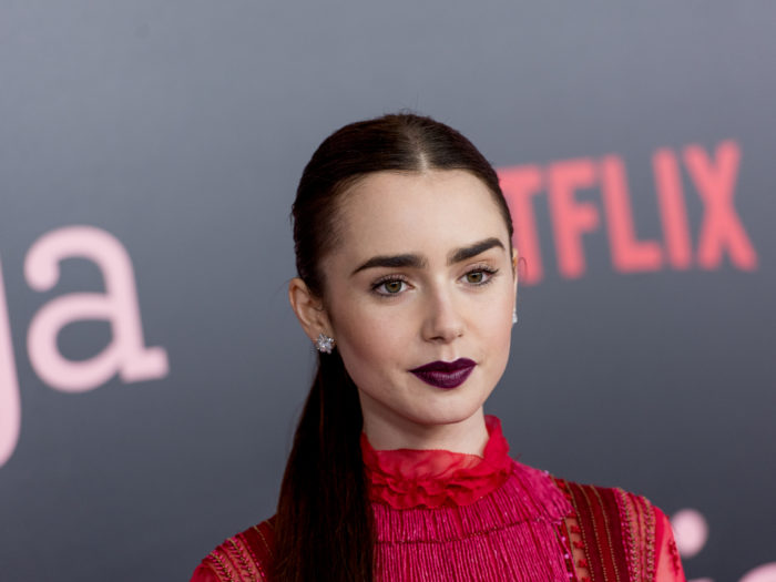 Lily Collins never sought help for eating disorder