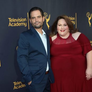 Chrissy Metz opened up about the struggles of dating a coworker on set