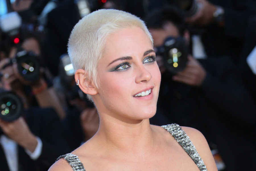 Kristen Stewart debuted frosted tips, officially making boy band chic a thing