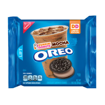 Oreo is debuting their Dunkin Donuts mocha flavor, a match made in cookie heaven