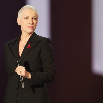 Living icon Annie Lennox responded to the radio station that thought she was an up-and-coming artist