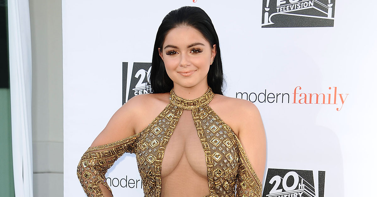 "Ariel Winter got super real about the ""meltdowns"" she used to have while bathing suit shopping"