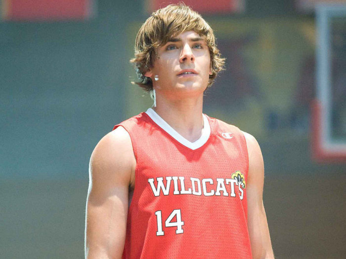 Zac Efron posted a picture with some literal wild cats, and it's giving us Wildcat pride