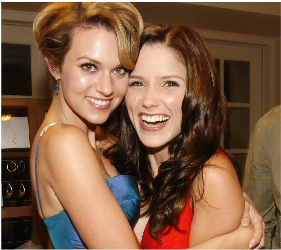 """Sophia Bush posted the cutest birthday message for her """"One Tree Hill"""" BFF Hilarie Burton, and #Breyton4eva"""