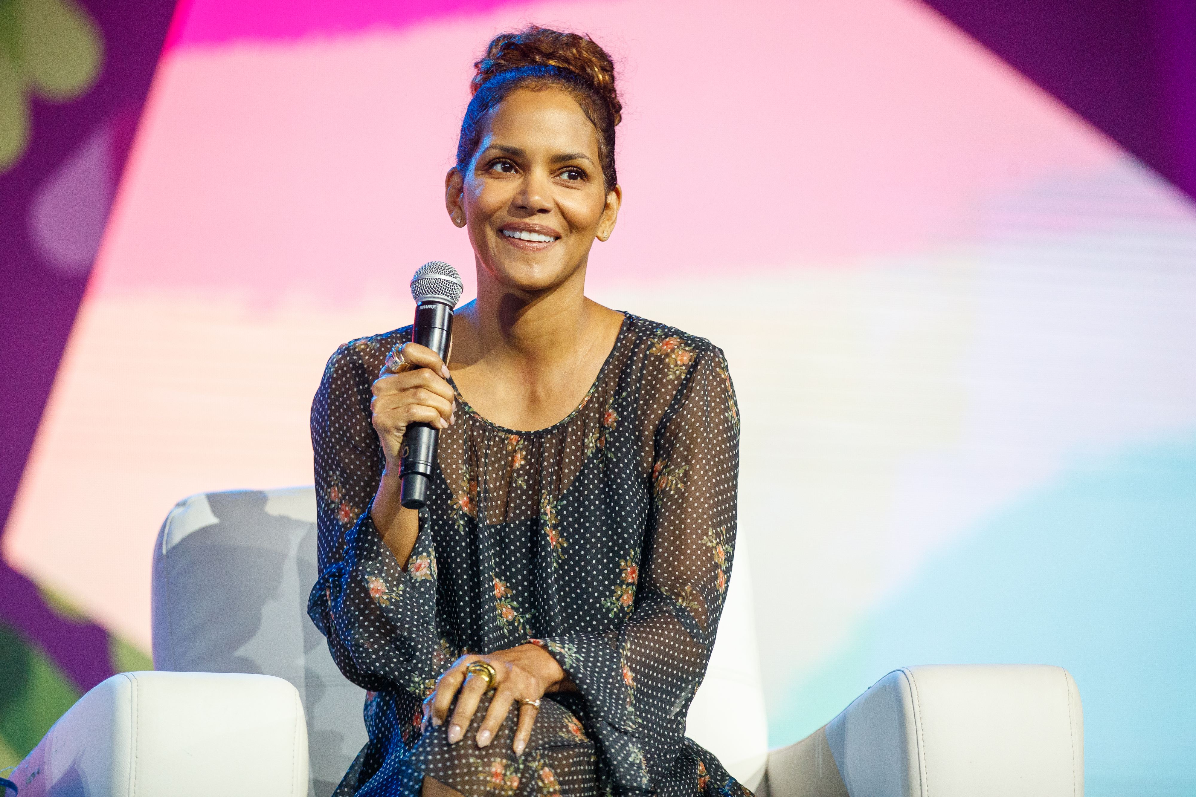 If Halle Berry could play anybody in a movie it would be this political activist, so let's make it happen