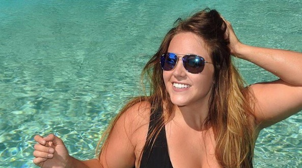 So many women are posting pictures of themselves in Ashley Graham's swimwear line