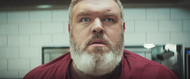 "This KFC ad recreates ""Game of Thrones'"" super sad Hodor moment, and it's still TOO. DAMN. SOON."