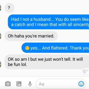 This woman had the BEST response to a married man who sexted her