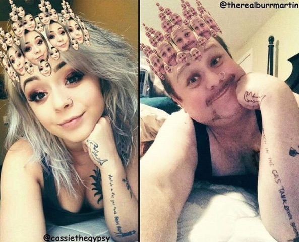"""This dad recreates his daughter's """"sexy"""" selfies, and the results are comedic gold"""