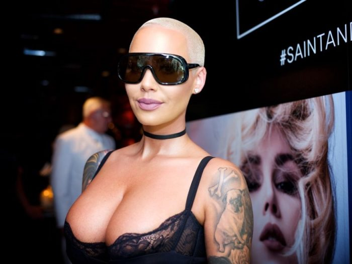 New Flames Amber Rose & 21 Savage Have Already Met Each Other's Families!