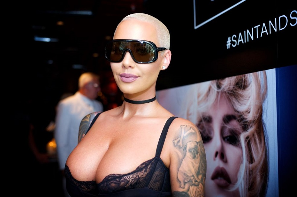 Amber Rose just made her new relationship Instagram-official