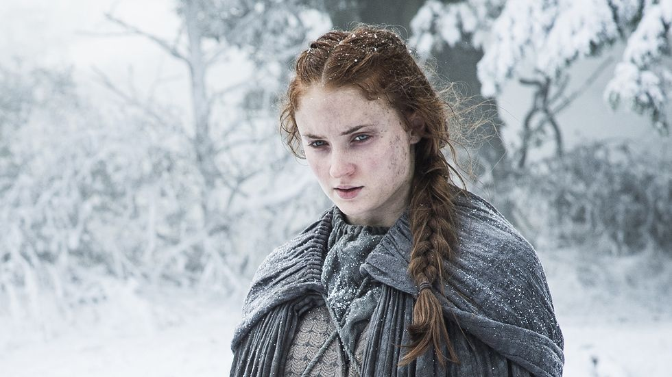 "Forget Queen of the North — Sansa's the Queen of Side Eye in this latest ""Game of Thrones"" image"