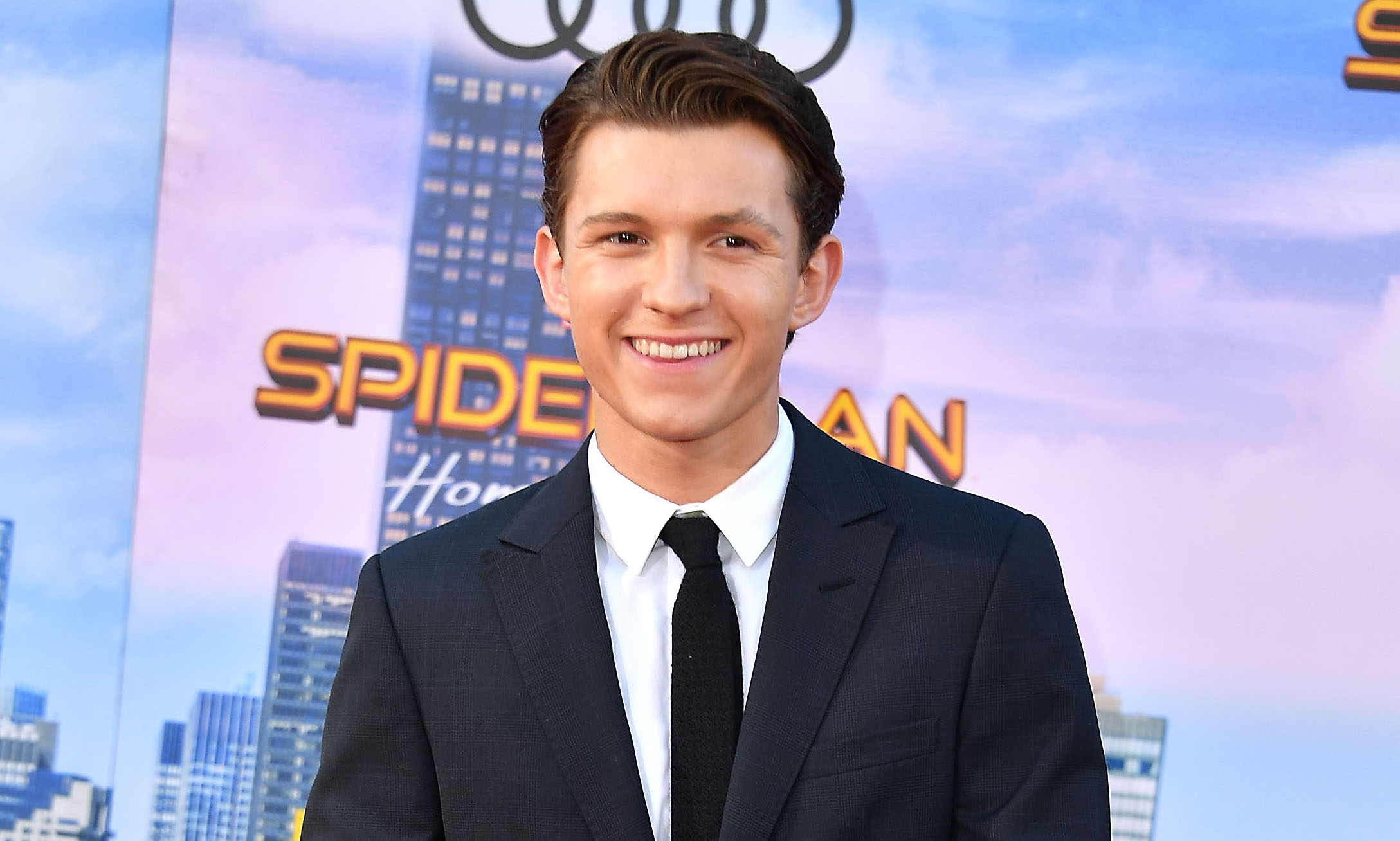 Tom Holland explains that the audition process for Spider-Man was basically like The Hunger Games
