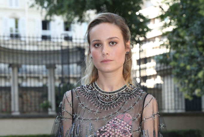 "Brie Larson's sheer grunge dress is giving us major ""Corpse Bride"" vibes"