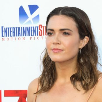 """Mandy Moore's """"This Is Us"""" transformation includes plaster and silicone"""