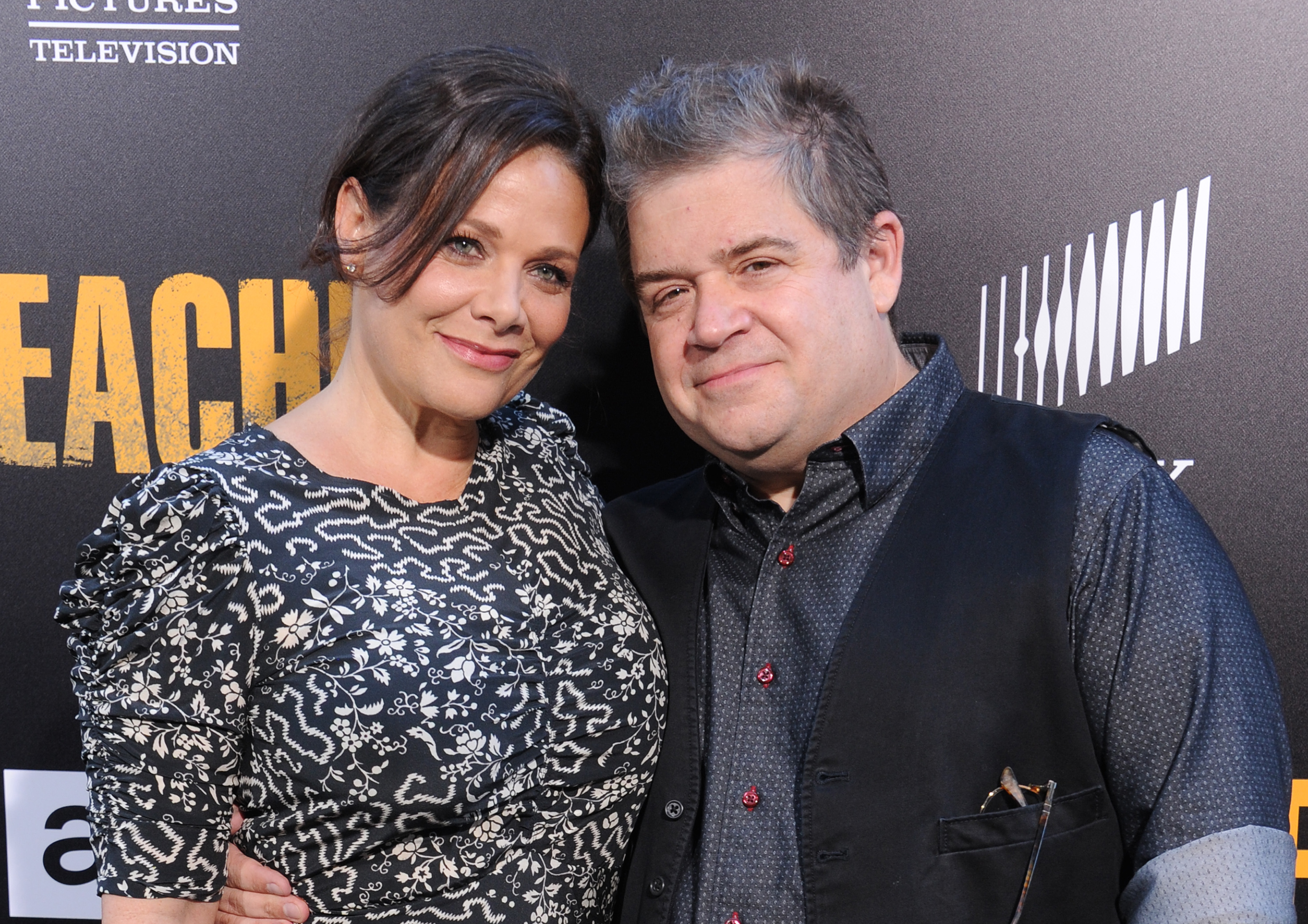 Patton Oswalt is engaged, and you won't believe the size of THE ROCK he gave his new fiancée