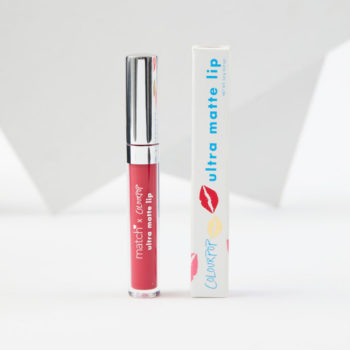 ColourPop and Match.com collaborated on a smooch-worthy lipstick for National Kissing Day