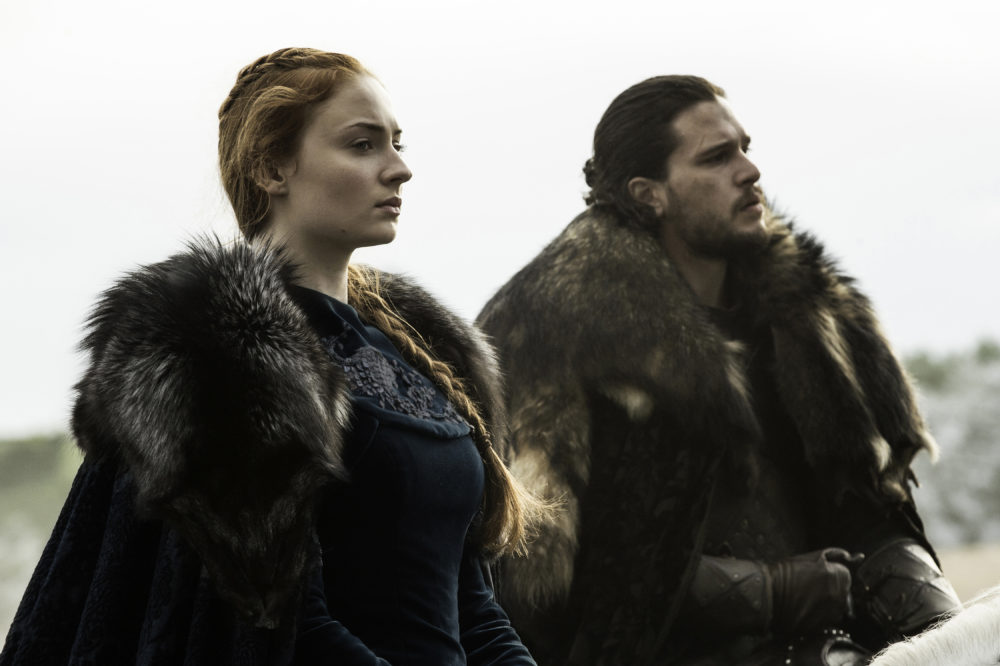 "Today in sibling rivalries, there's going to be a Jon-Sansa power struggle in ""Game of Thrones"" Season 7"