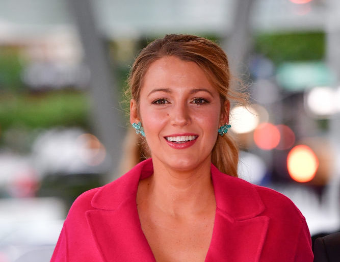 Here's where to buy Blake Lively's affordable futuristic sunglasses