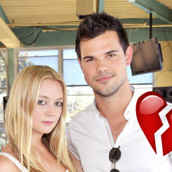 Billie Lourd and Taylor Lautner have broken up, because nothing gold can stay