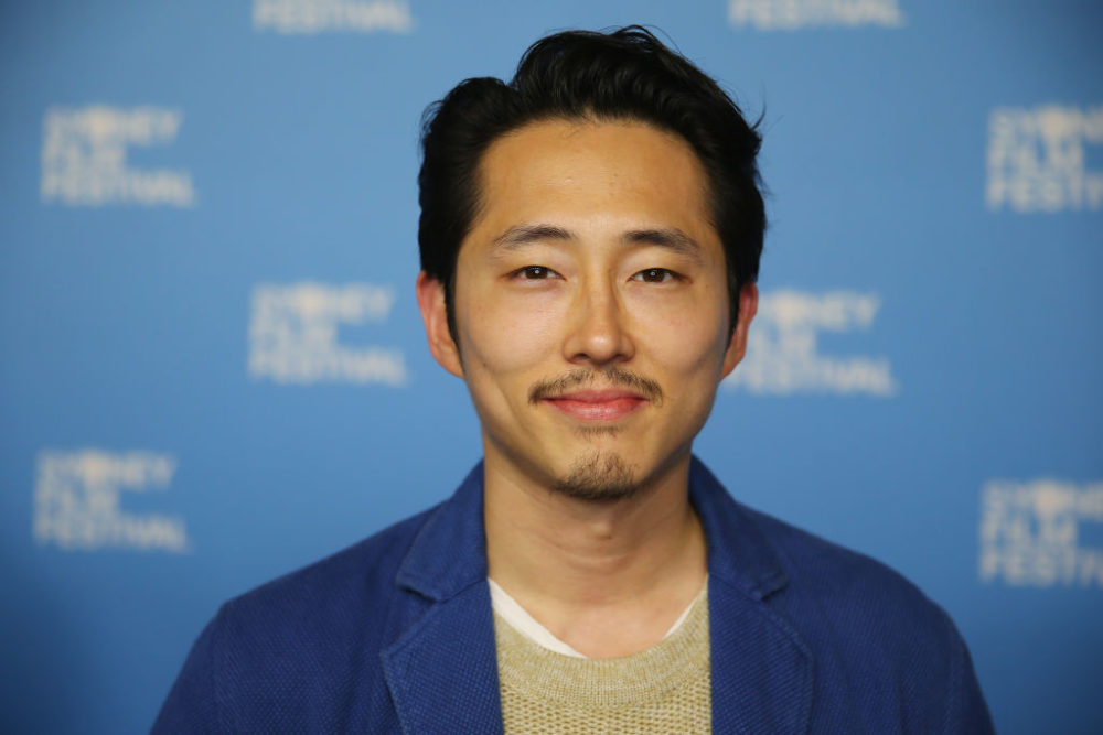 """The Walking Dead's"" Steven Yeun still has a lot of feelings about Glenn's death, and we're crying all over again"