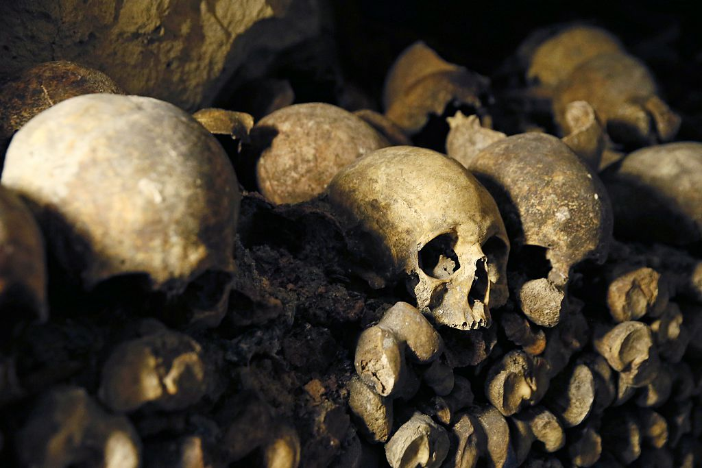 A tower of 500-year-old skulls was just discovered in Mexico City