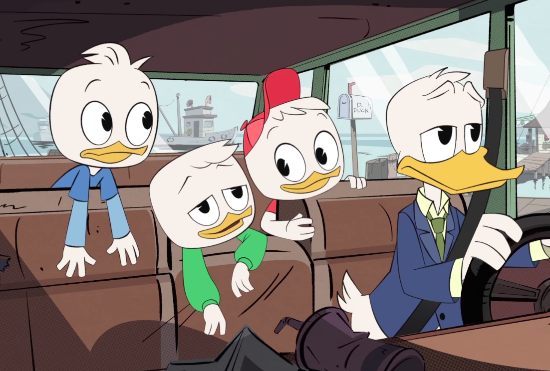 "Danny Pudi spills some ""DuckTales"" spoilers, and we're both excited and a little bit nervous"
