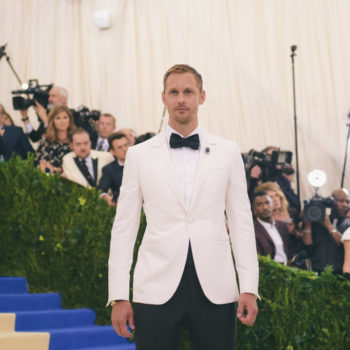 This is supposedly Alexander Skarsgard's secret Instagram account