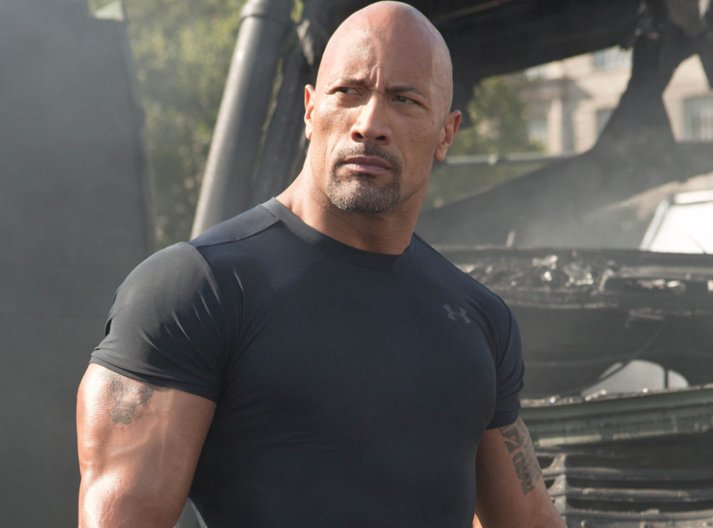 Don't even THINK about telling The Rock he runs like Tom Cruise
