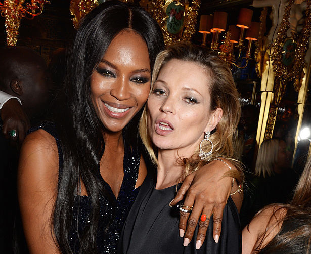 Naomi Campbell and Kate Moss have been named contributing editors at this magazine