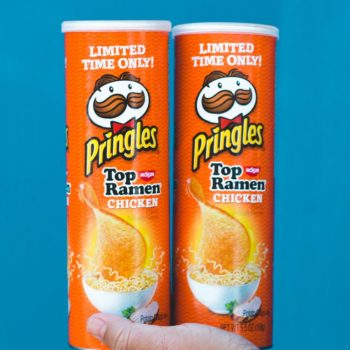This new Pringles flavor will remind you of college, and sign us up