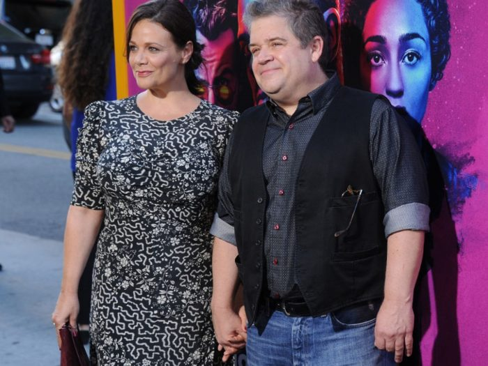 Patton Oswalt And Meredith Salenger Respond To Trolls Who Criticized Their Engagement