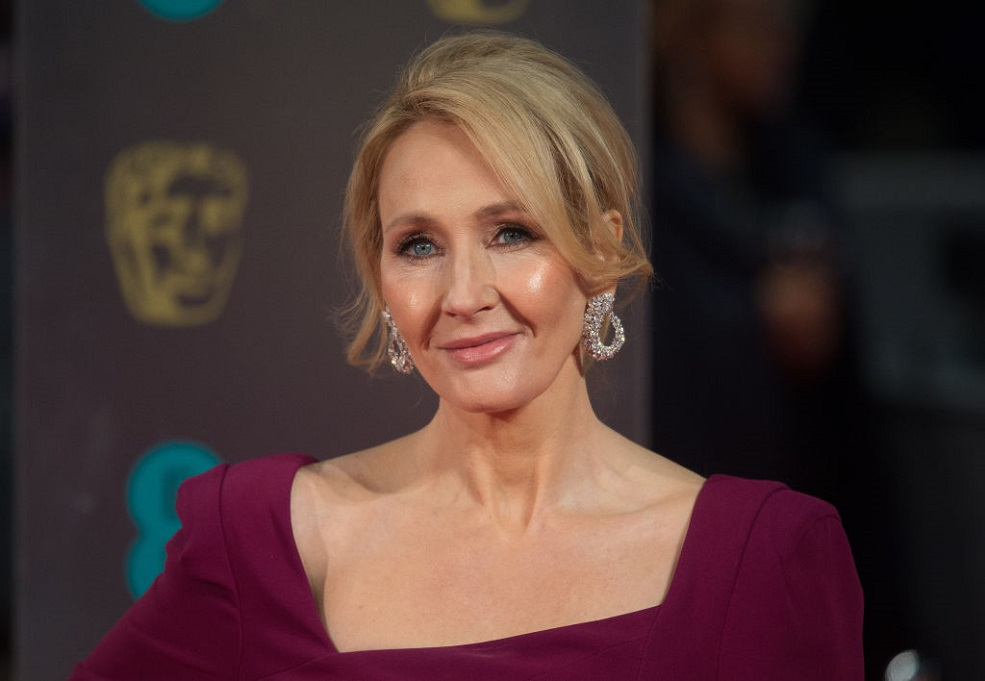J.K. Rowling has an unpublished manuscript that's written on a Halloween costume