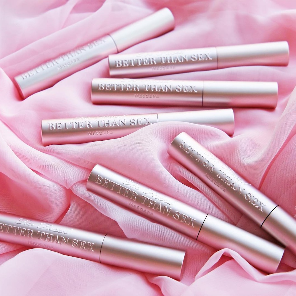 Jerrod Blandino revealed a heel inspired by Too Faced's best-selling mascara, and we need this in our closets NOW