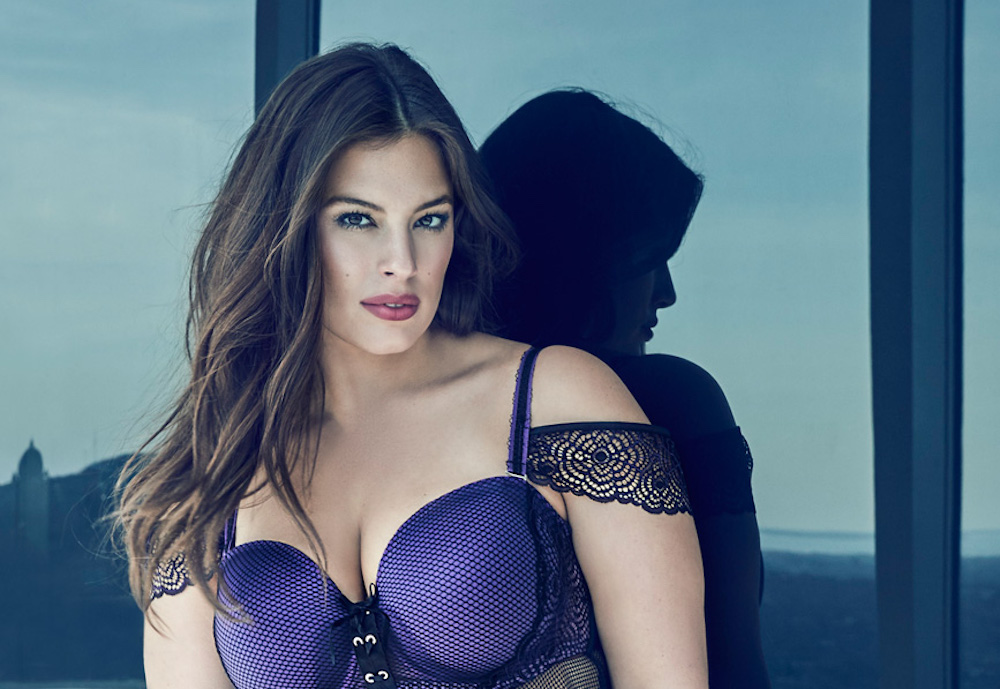 Ashley Graham and Canadian brand Addition Elle have blessed us mortals with a new lingerie collection