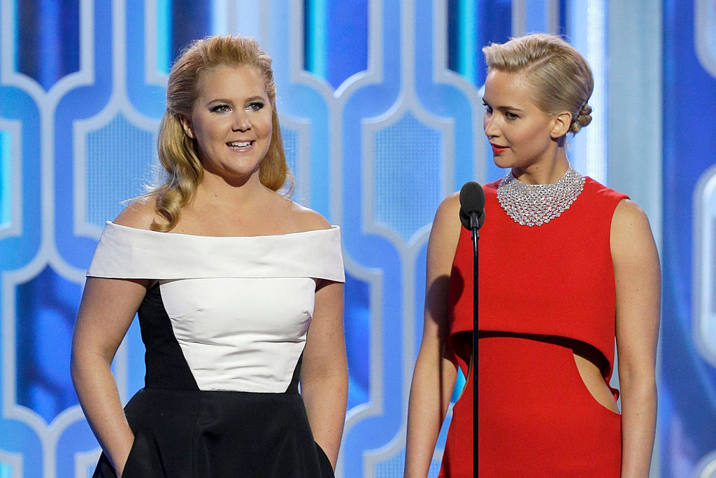 Does this post mean Amy Schumer and Jennifer Lawrence are finally filming their buddy comedy?