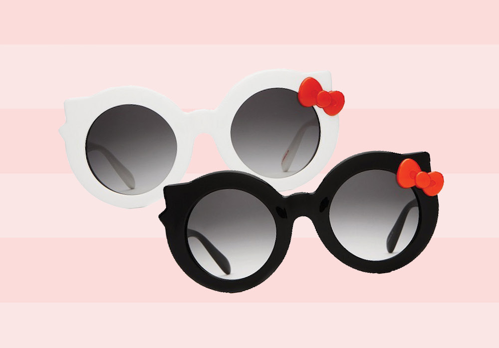 The Hello Kitty x Crap Eyewear collection will satisfy your inner tween