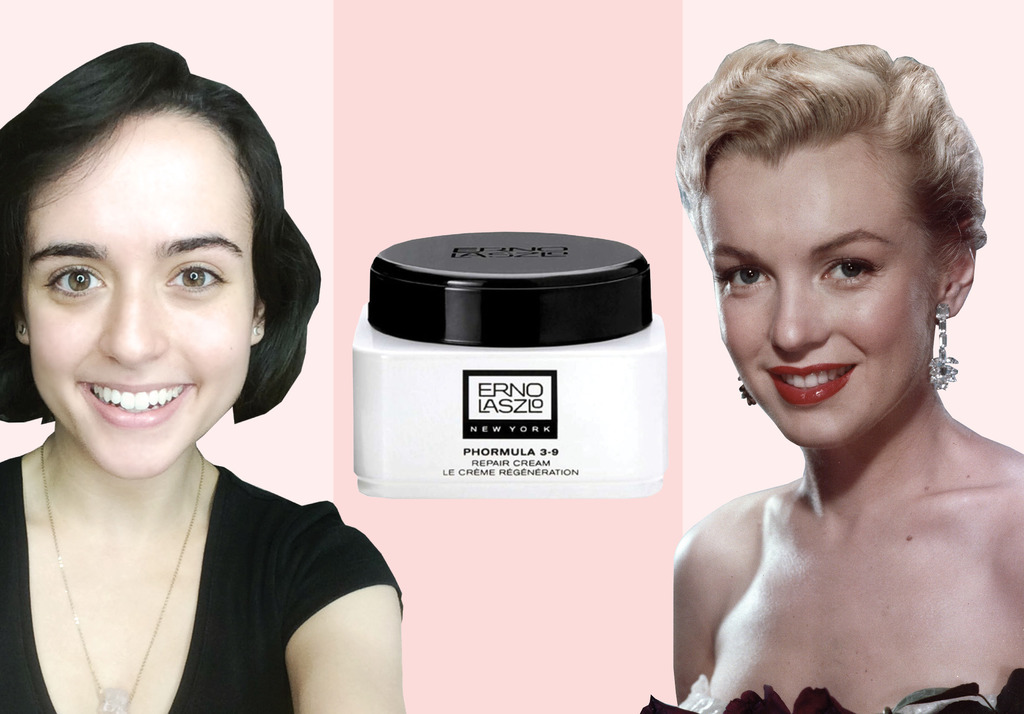 I used Marilyn Monroe's secret beauty weapon to see if it would heal my skin