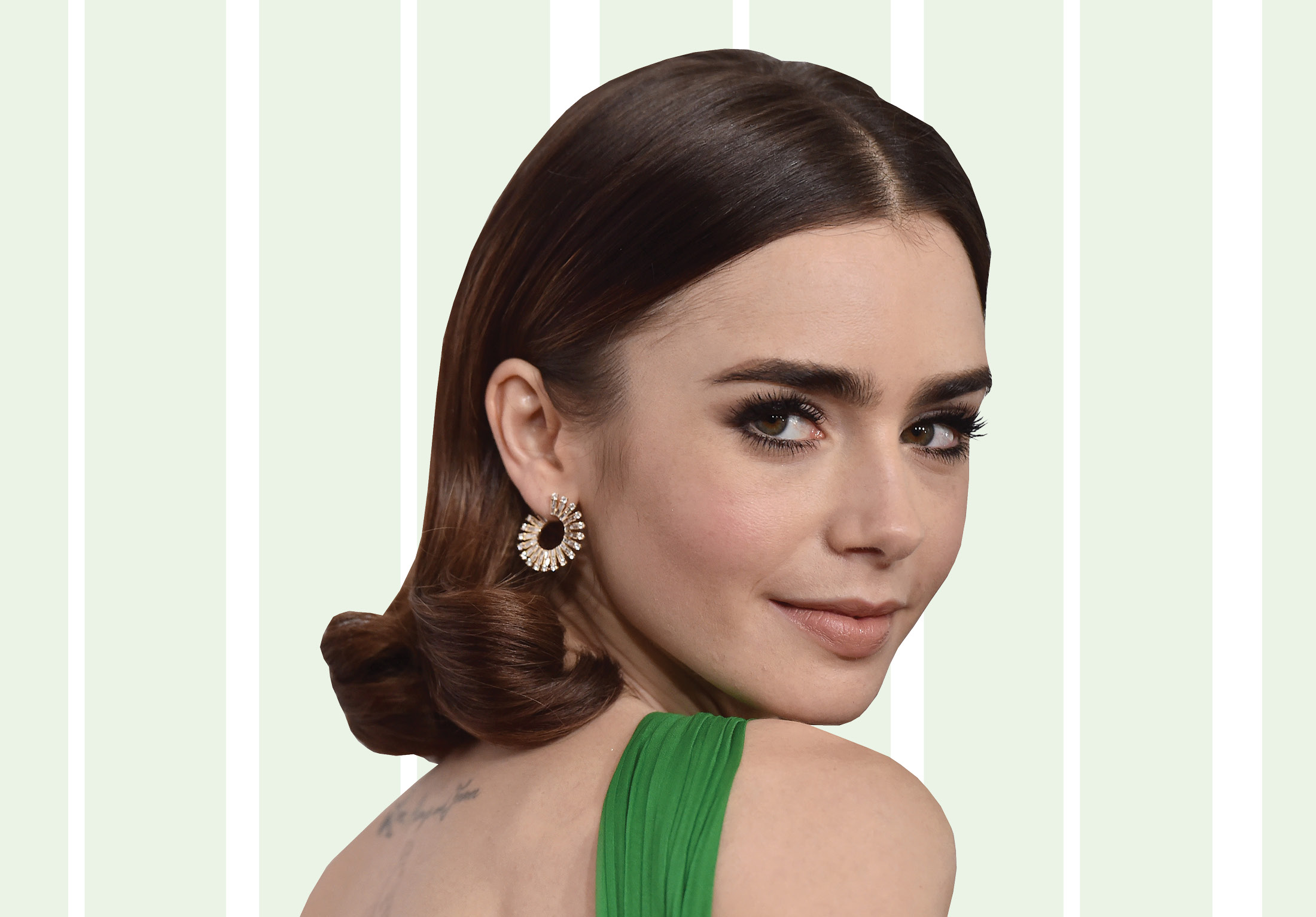 """""""To the Bone"""" star Lily Collins told us why a dialogue about eating disorders matters"""