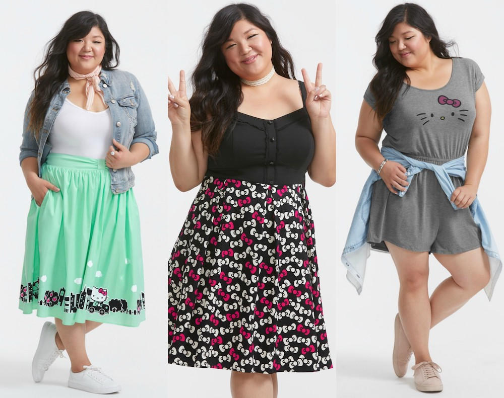 Sanrio and Torrid launched a Hello Kitty-inspired collection, and it's paw-sitively cute