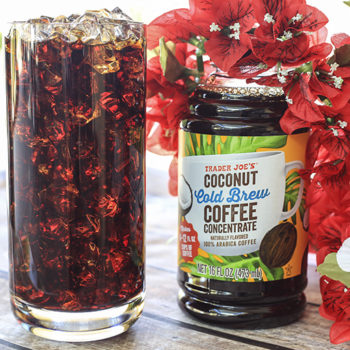 Trader Joe's just released a new cold brew flavor that will take you to tropical paradise