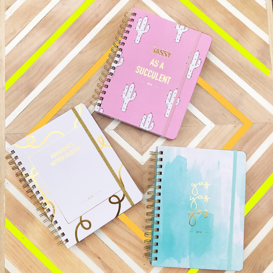 This HelloGiggles alumna created her own line of planners, and they're brilliantly sassy
